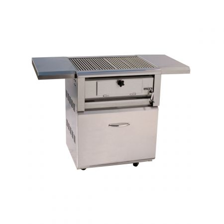 Luxor AHT-30CHAR-F-OT Free Standing Charcoal Open-Top Grill
