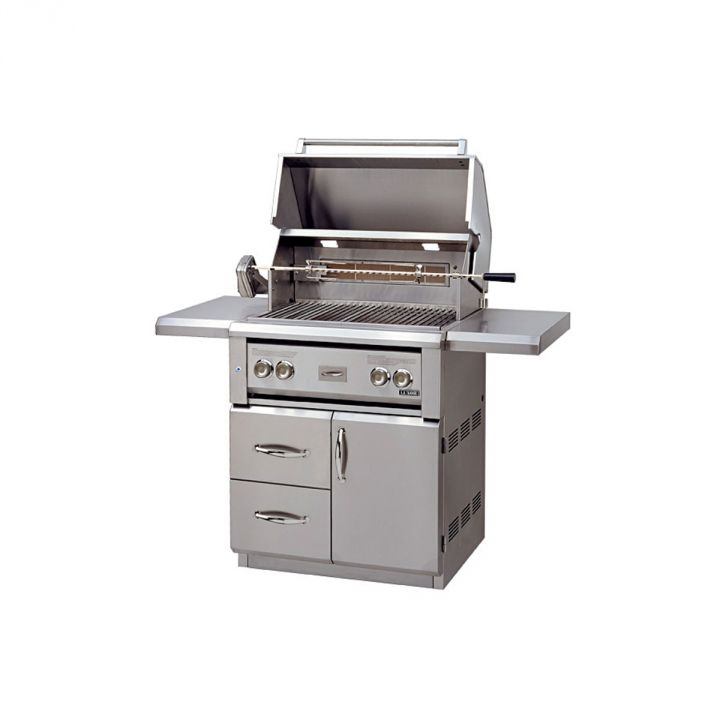 Luxor AHT-30FR-CV-L 30 Inch Free Standing Grill With Rotisserie