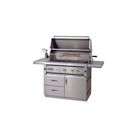 Luxor AHT-42FRCV-L 42 Inch Free Standing Grill With Rotisserie