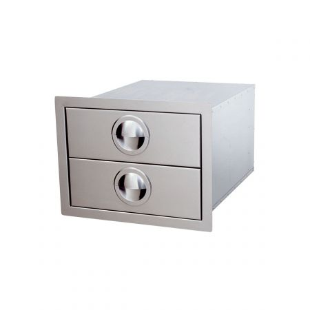 Luxor AHT-B2D Slimline Double Drawer