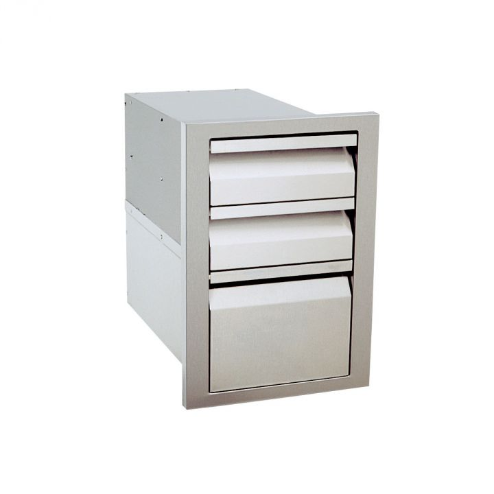 Luxor AHT-DR3 Contemporary Triple Drawer