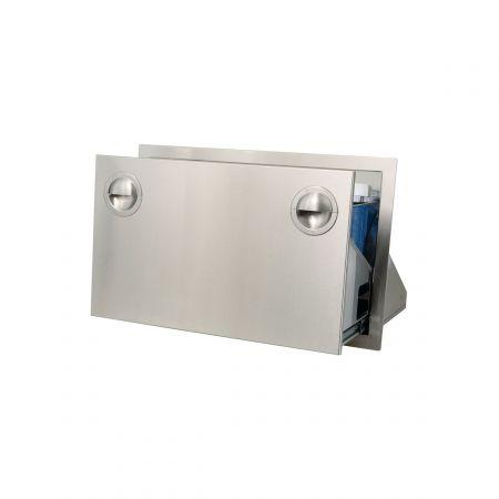 Luxor AHT-ICDW-30 Slimline Ice Chest-Cooler Drawer Opened