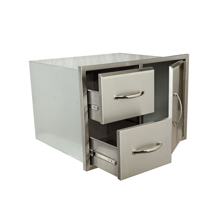 Luxor AHT-M-COMBO-30 Medallion Door Drawer Combo