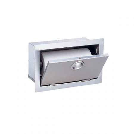 Luxor AHT-PTH Slimline Paper Towel Holder Opened