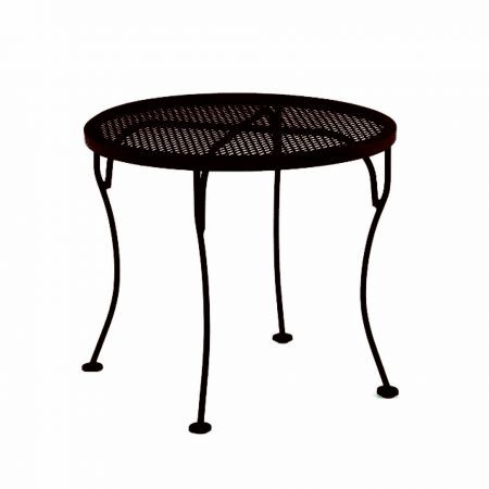 OW Lee 24 Round Micr Mesh Side Table
