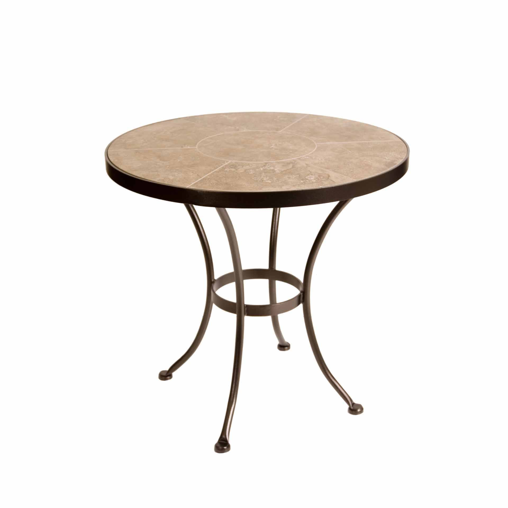 Ow Lee 30 Quot Round Porcelain Dining Table Leisure Living