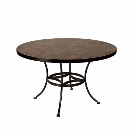 OW Lee 48 Round Porcelain Dining Table