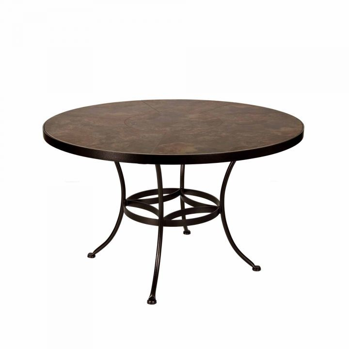 OW Lee 48″ Round Porcelain Dining Table