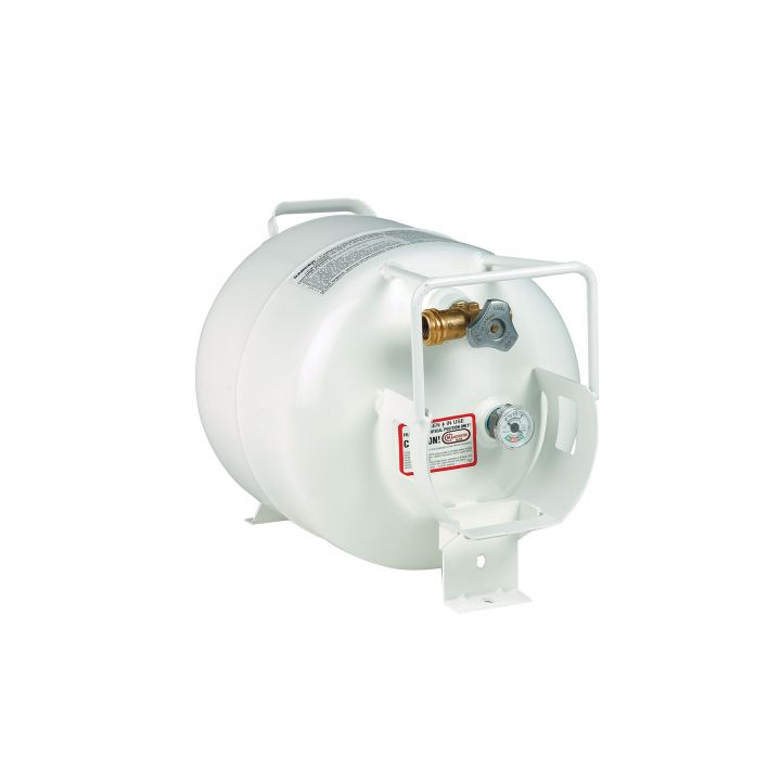 OW Lee Casual Fireside 20 Pound Horizontal Propane Tank