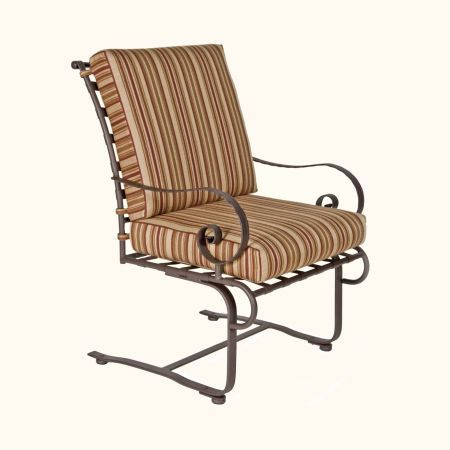 OW Lee Classico Club Dining Spring Base Arm Chair