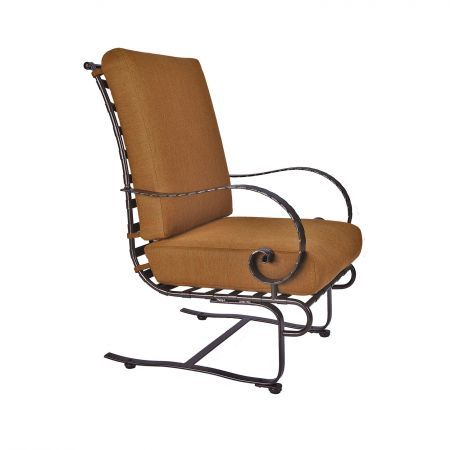 OW Lee Classico Hi-Back Spring Base Lounge Chair