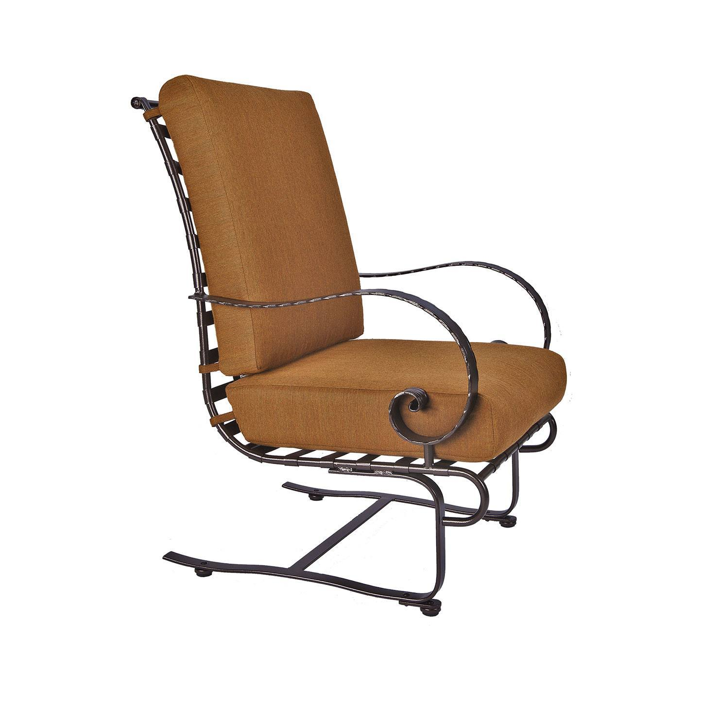 Ow Lee Classico Hi Back Spring Base Lounge Chair Leisure