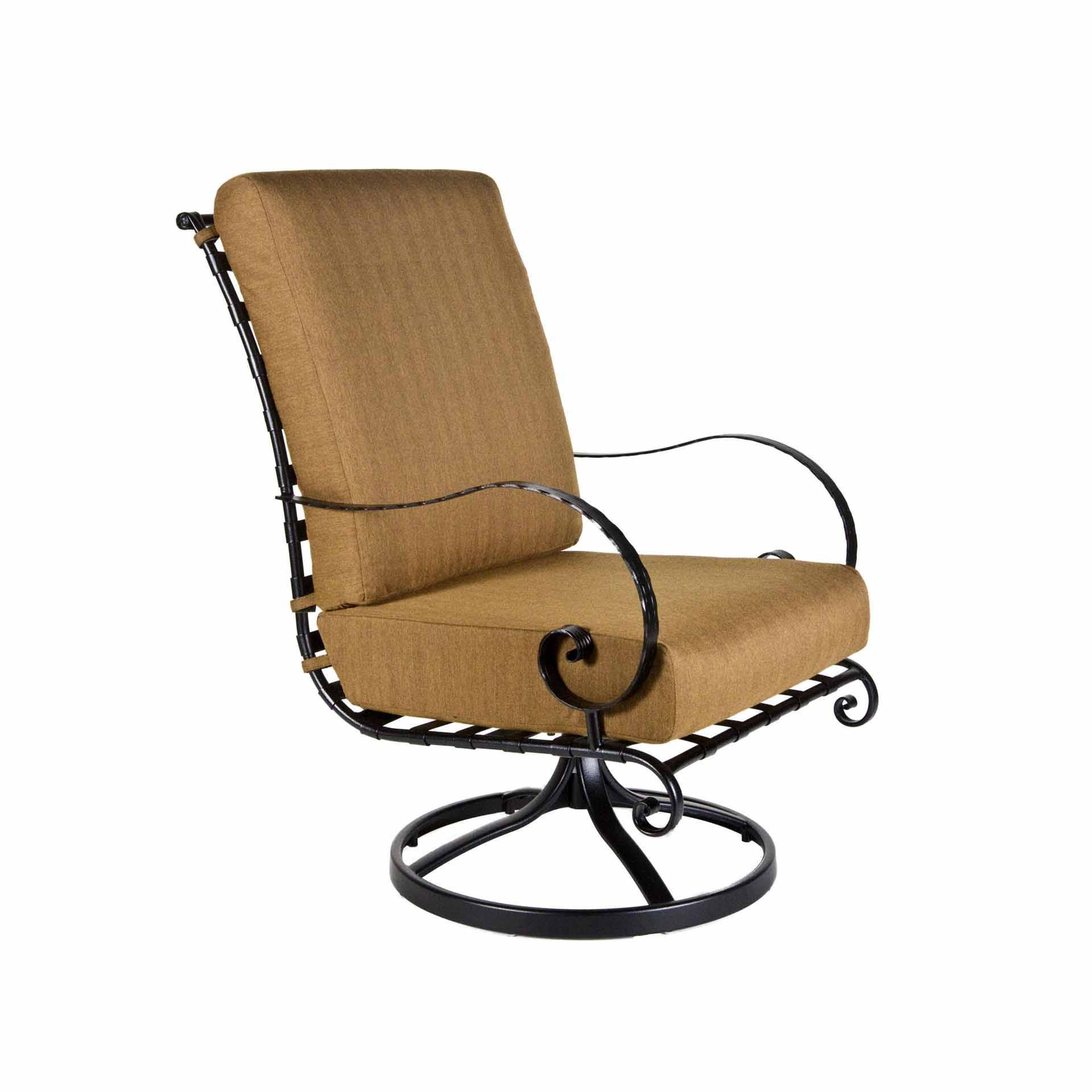 Ow Lee Classico Hi Back Swivel Rocker Lounge Chair