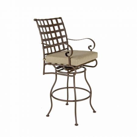 OW Lee Classico Swivel Bar Stool with Arms