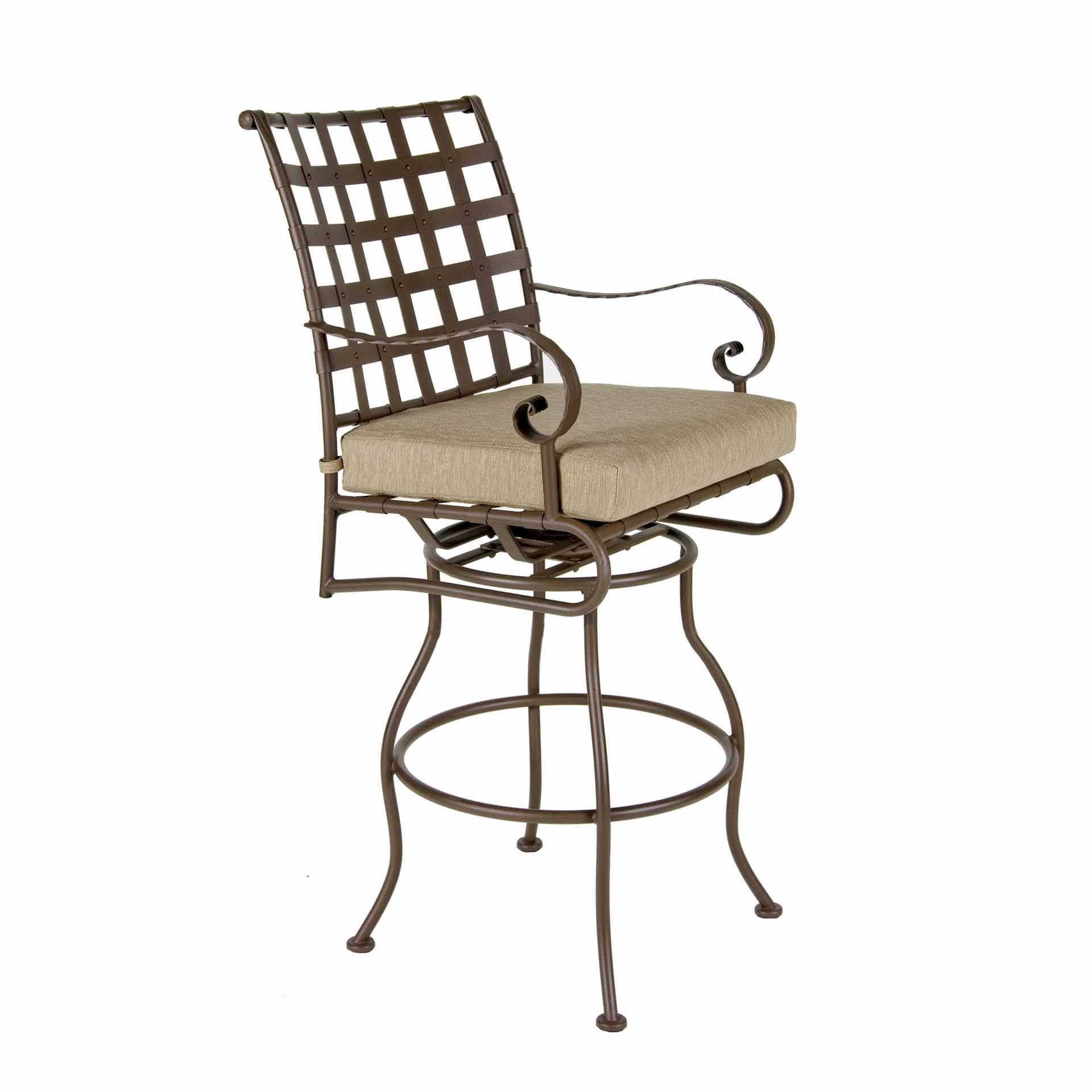 Ow Lee Classico Swivel Counter Stool With Arms Leisure