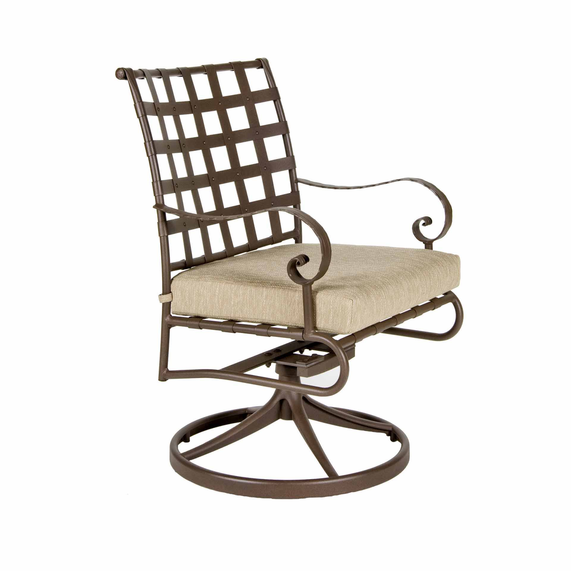 Ow Lee Classico Swivel Rocker Dining Arm Chair Leisure