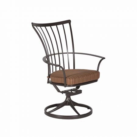 OW Lee Monterra Dining Swivel Rocker Arm Chair