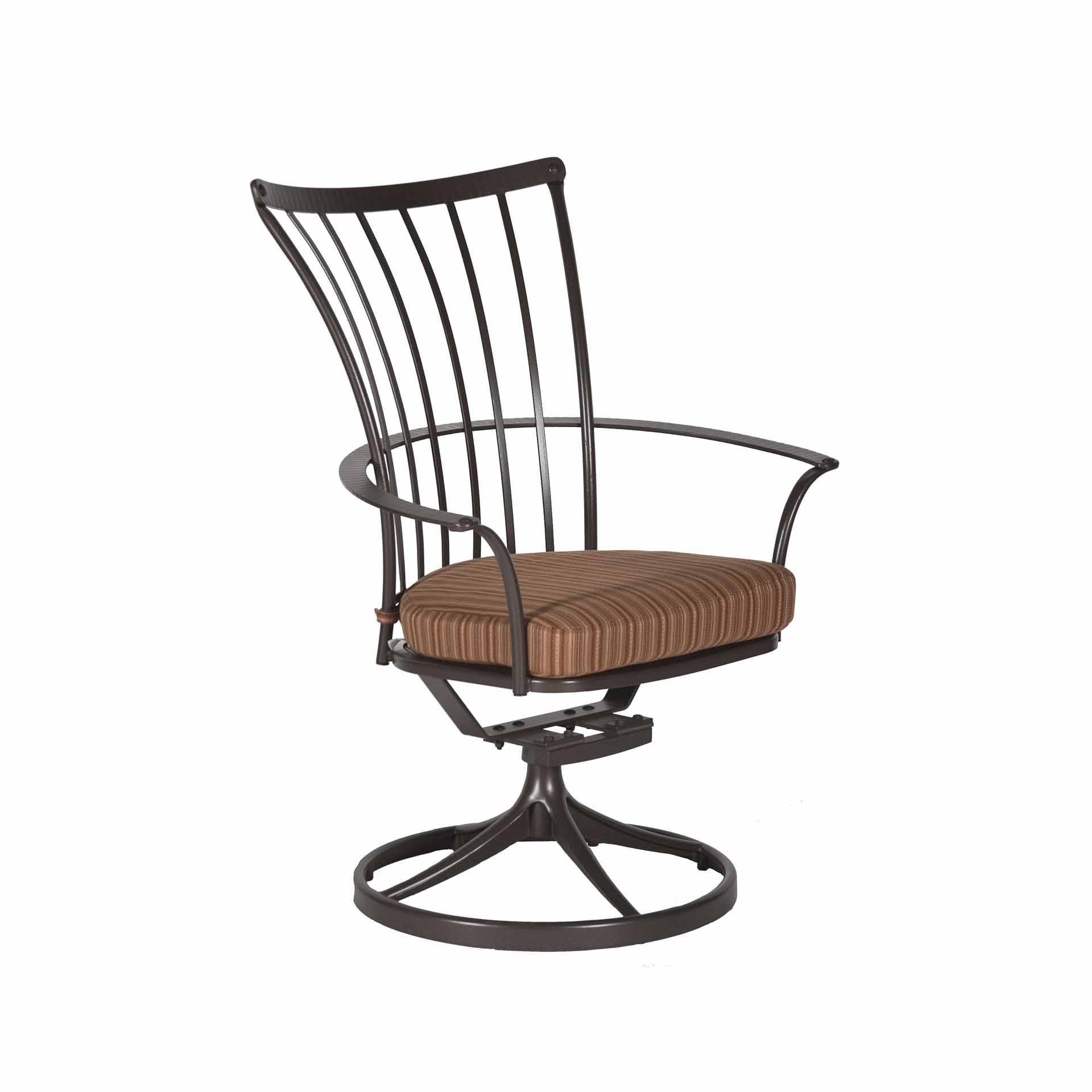 Ow Lee Monterra Dining Swivel Rocker Arm Chair Leisure