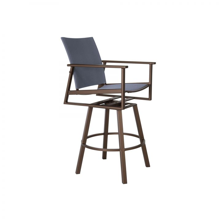 Ow Lee Marin Flex Comfort Sling Swivel Counter Stool