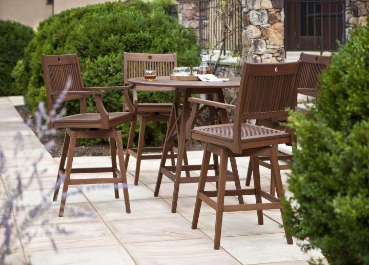 Jensen Leisure Opal Swivel High Dining Chair