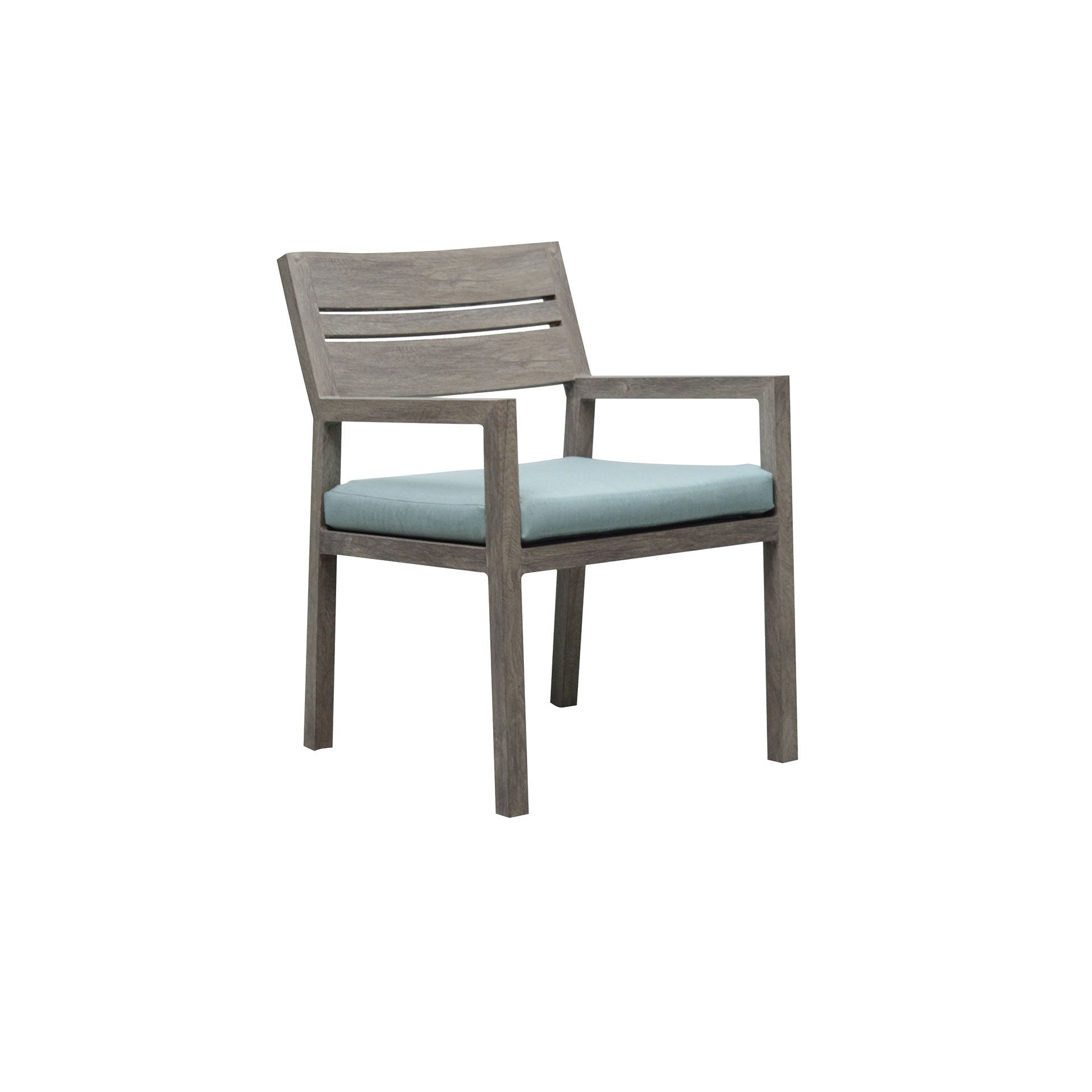 Patio Renaissance Aspen Dining Arm Chair Leisure Living