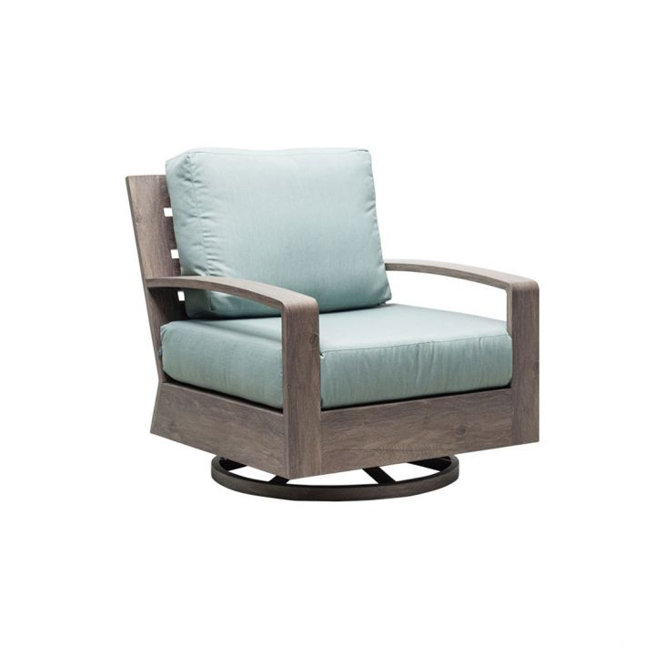Patio Renaissance Seattle Club Swivel Rocker