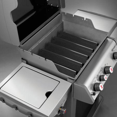Porcelain-Enameled Flavorizer Bars Used In The Weber Spirit E-330 Gas Grill