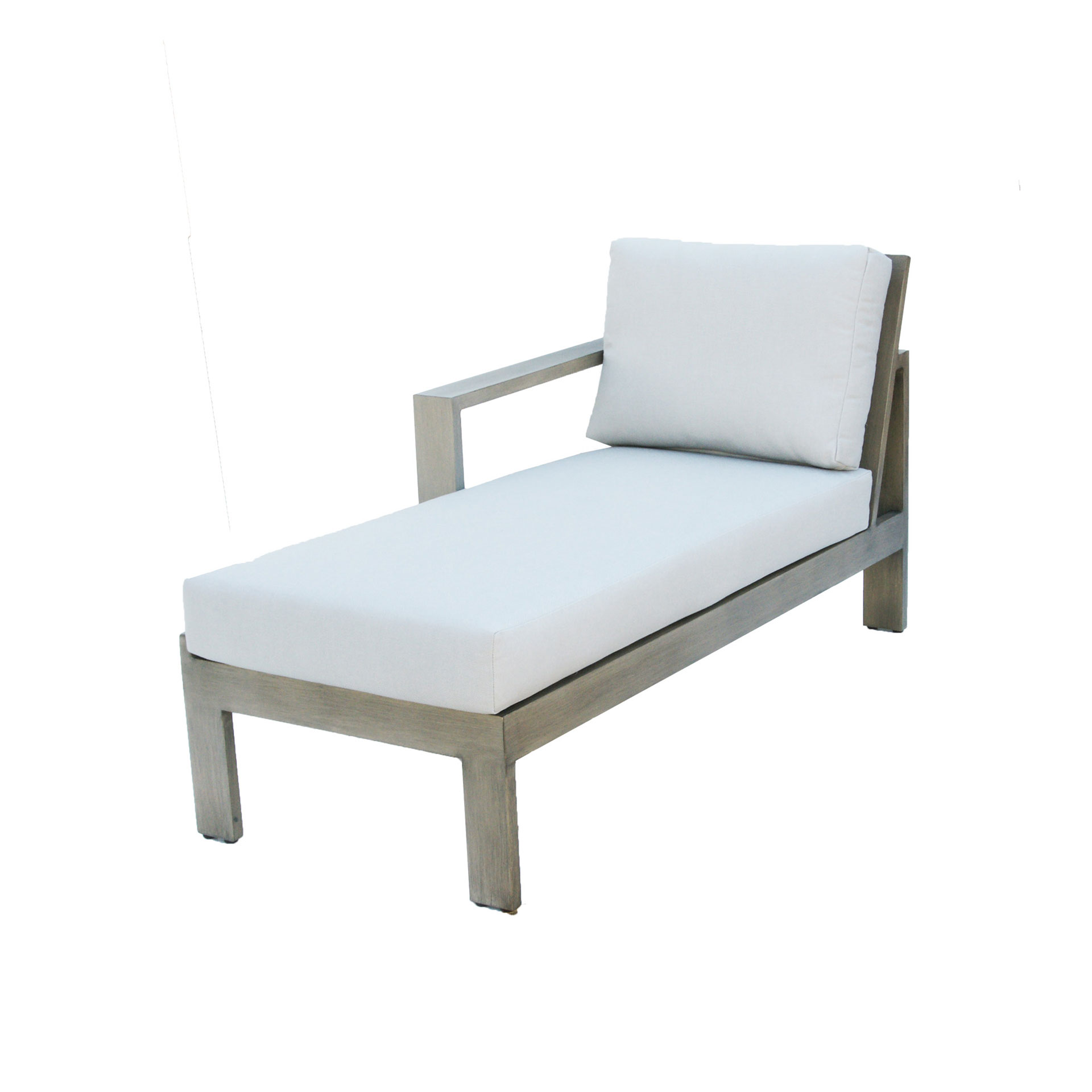 Left arm chaise lounge klaussner 270l lincoln left arm for Chaise interiors inc