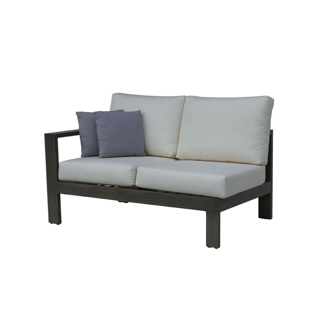 Ratana Park Lane Sectional Left Arm Love Seat Leisure Living - Ratana outdoor furniture