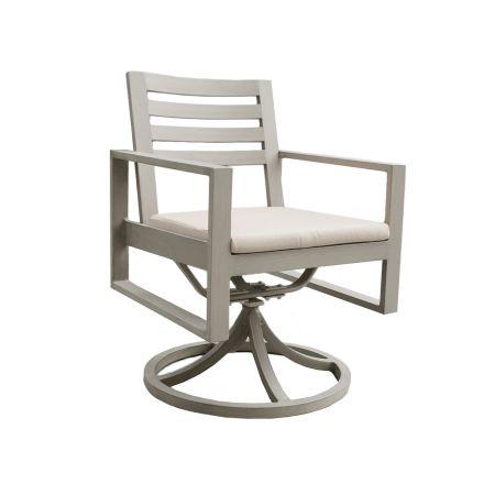 Ratana Park Lane Swivel Dining Arm Chair