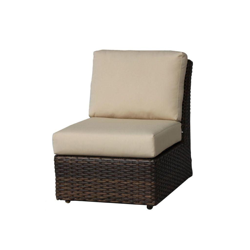 Ratana Portfino Sectional Armless Chair Leisure Living - Ratana outdoor furniture