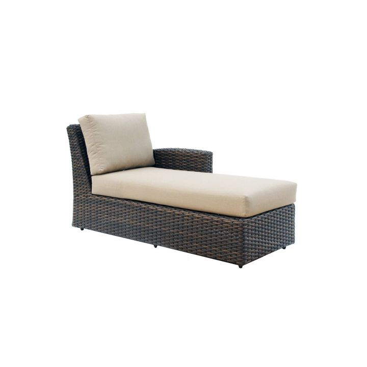 Ratana Portfino Sectional Right Arm Chaise Leisure Living