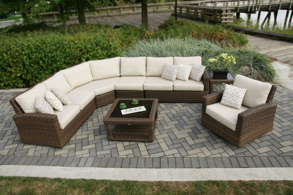 Ratana portfino swivel gliding club chair leisure living Ratana outdoor furniture