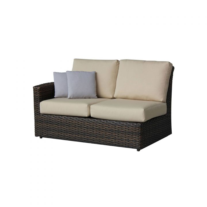 Ratana Portfino Sectional Two Seater Left Arm Love Seat