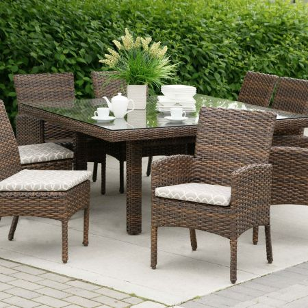 Ratana Portfino Square Dining Set Can Be Special Ordered