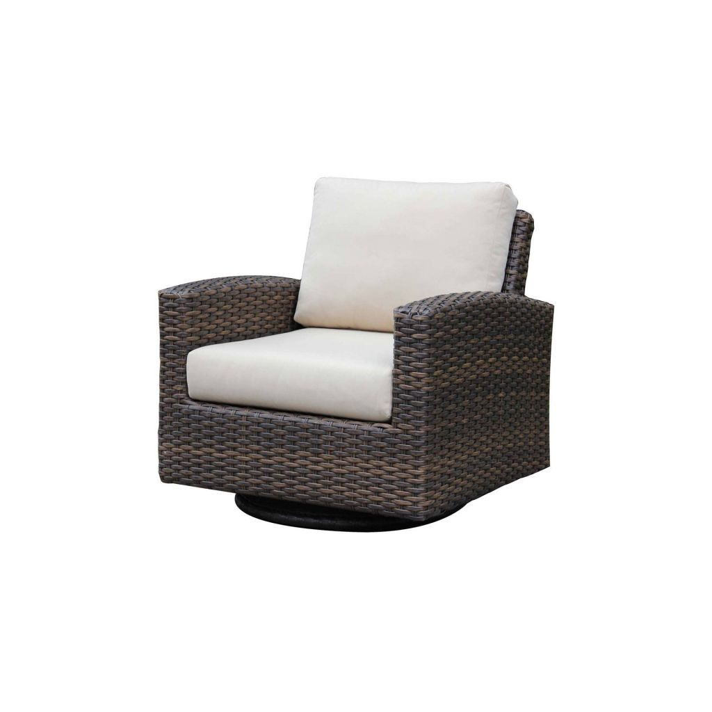 Ratana Portfino Swivel Gliding Club Chair Leisure Living - Ratana outdoor furniture
