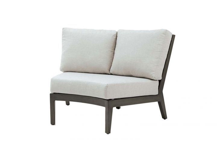 Ratana Lucia Sectional Two Seater Wedge Corner Love Seat