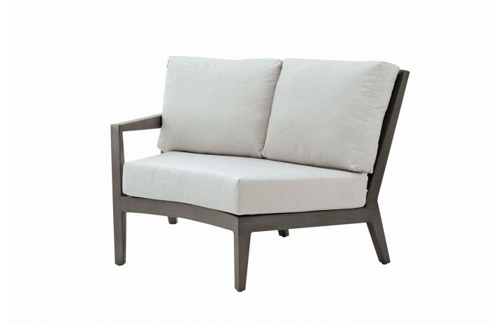 Ratana Lucia Sectional Two Seater Wedge Left Arm Love Seat