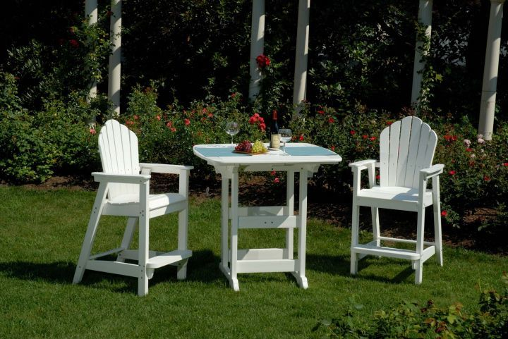 Seaside 3pc Adirondack Classics High Dining Set