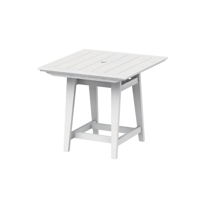 Seaside Casual Mad Fusion 40″ Square Balcony Table