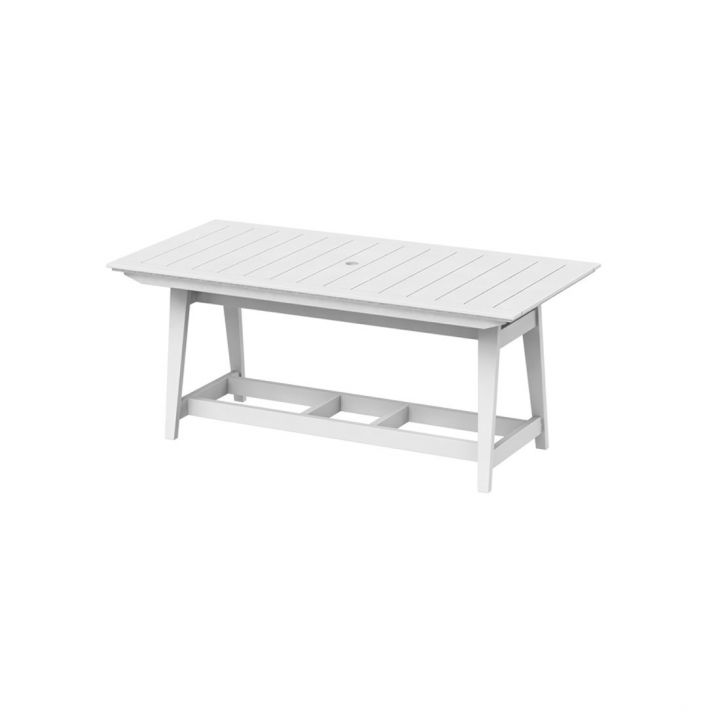 Seaside Casual Mad Fusion 85X40″ Rectangular Balcony Table