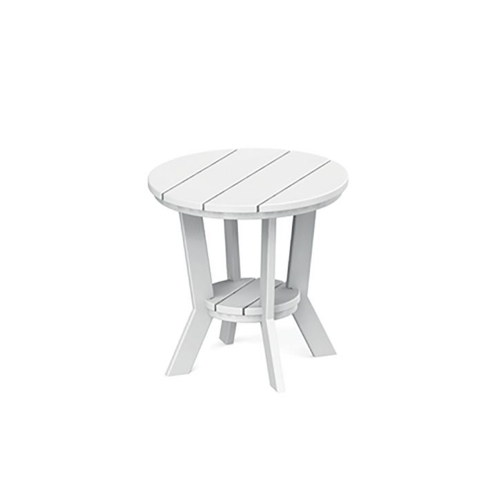 Seaside Casual Patio Furniture.Seaside Casual Mad Fusion 18 Round Side Table Leisure Living