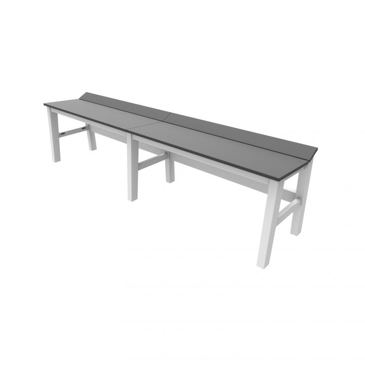 Seaside Casual Sym 72X16″ Backless Bench