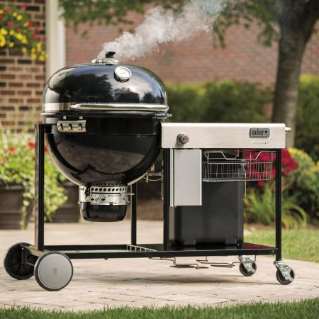 Weber Summit Charcoal Grill Center On The Patio