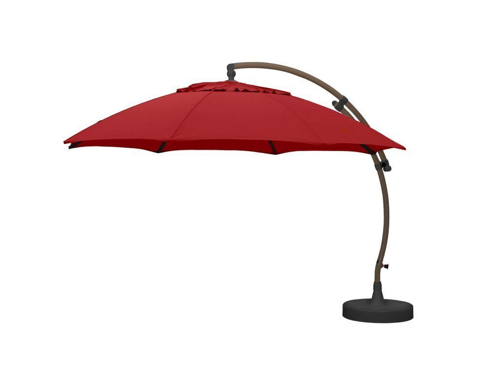 sun garden ' easy sun free standing umbrella  leisure living - sun garden ' easy sun free standing umbrella open
