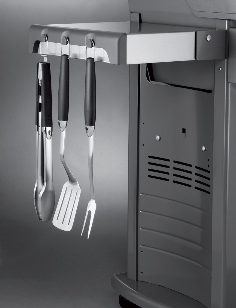 weber spirit s 210 gas grill stainless steel leisure living. Black Bedroom Furniture Sets. Home Design Ideas