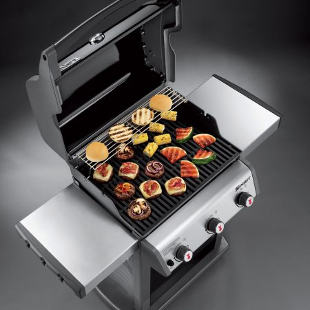 Top View Of The Weber Spirit E-310 Gas Grill