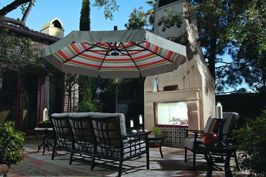 Treasure Garden 11 Cantilever Freestanding Umbrella