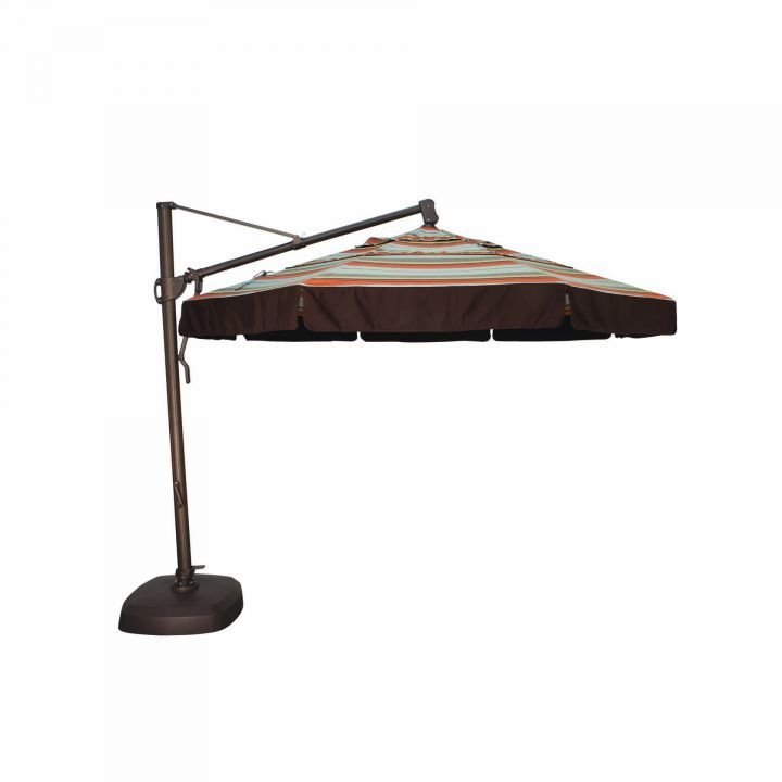 Treasure Garden 11′ Cantilever Freestanding Umbrella