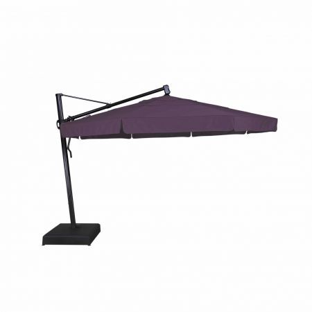 Treasure Garden 13' Cantilever Freestanding Umbrella Open